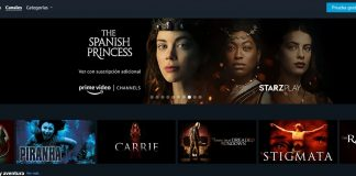 canales prime video